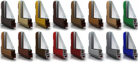Разнообразие цветовых решений для пластиковых окон