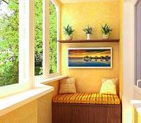 Уютные и функциональные балконы