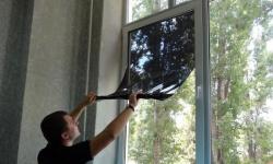 Затемняем окна на лето