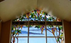 Как украсить металлопластиковое окно?